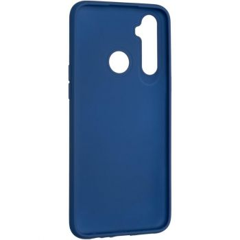 Оригинальный чехол полного обхвата Full Soft для Realme C3 Dark Blue