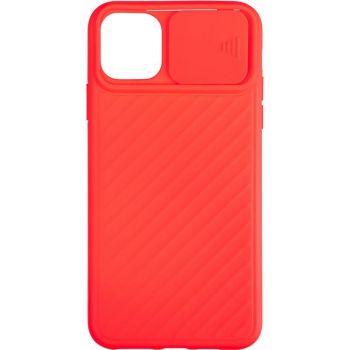 Защитный чехол Slide Camera от AirCase для iPhone 12 Pro Max красный