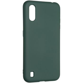 Оригинальный чехол полного обхвата Full Soft для Samsung M015 (M01) Dark Green