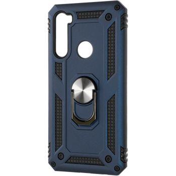 Противоударный синий чехол Defence с кольцом от Honor для Xiaomi Redmi Note 8