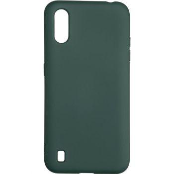 Оригинальный чехол полного обхвата Full Soft для Samsung A015 (A01) Dark Green