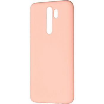Оригинальный чехол полного обхвата Full Soft для Huawei P40 Lite E Pink