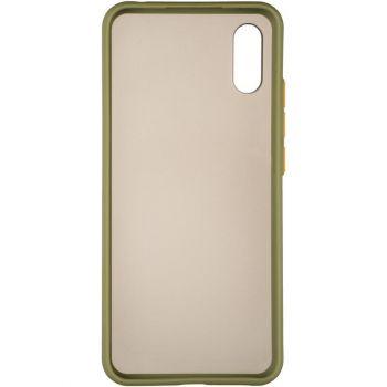 Защитный матовый чехол Yoho для iPhone 12 Mini зеленый