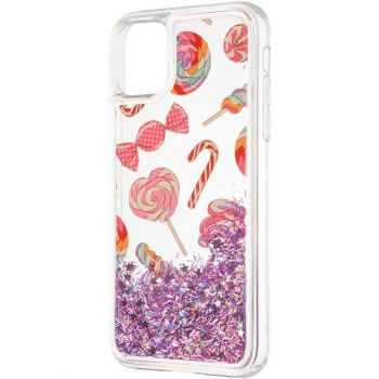Чехол с жидкостью Lollipop от Aspor для Samsung M215 (M21)