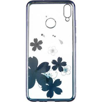 Чехол с кристаллами Breathe от Beckberg для Huawei P30 Lite с цветами