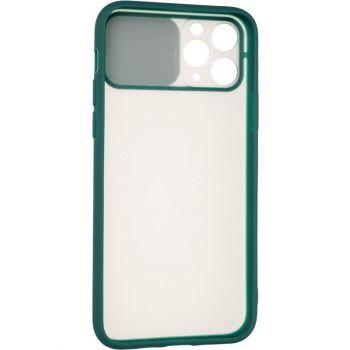 Защитная накладка с закрытой камерой для iPhone 12 Mini зеленый