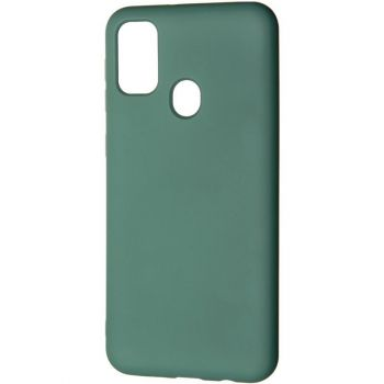 Оригинальный чехол полного обхвата Full Soft для Samsung M307 (M30s) Green