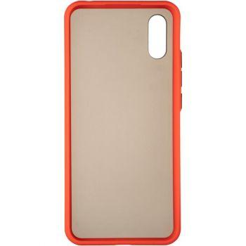 Защитный матовый чехол Yoho для Samsung A013 (A01 Core) красный