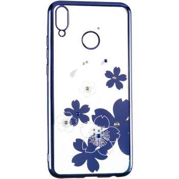 Чехол с кристаллами Breathe от Beckberg для Samsung A515 (A51) с цветами