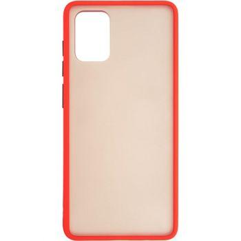 Защитный матовый чехол Yoho для Samsung A715 (A71) красный