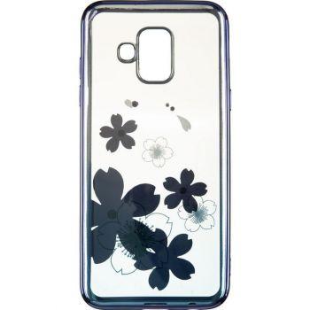 Чехол с кристаллами Breathe от Beckberg для Samsung M105 (M10) с цветами