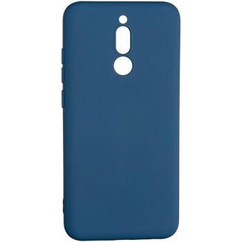 Оригинальный чехол полного обхвата Full Soft для Xiaomi Redmi 8 Blue