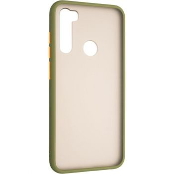 Защитный матовый чехол Yoho для Xiaomi Redmi Note 8t зеленый
