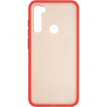 Защитный матовый чехол Yoho для Xiaomi Redmi Note 8t красный
