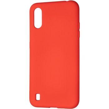 Оригинальный чехол полного обхвата Full Soft для Samsung A015 (A01) Red
