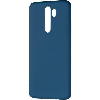 Оригинальный чехол полного обхвата Full Soft для Xiaomi Redmi Note 8 Pro Blue
