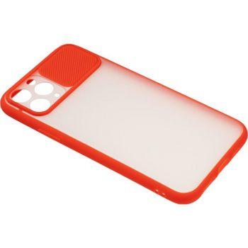 Защитная накладка с закрытой камерой для iPhone 12 Mini красный