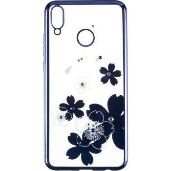 Чехол с кристаллами Breathe от Beckberg для Samsung A015 (A01) с цветами