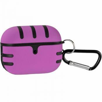 Фиолетовый силиконовый чехол KeepHone от Floveme для AirPods Pro