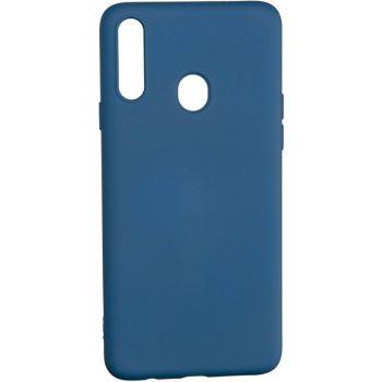 Оригинальный чехол полного обхвата Full Soft для Samsung A415 (A41) Blue