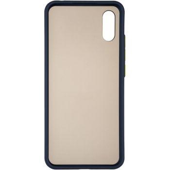 Защитный матовый чехол Yoho для iPhone 12 Mini синий