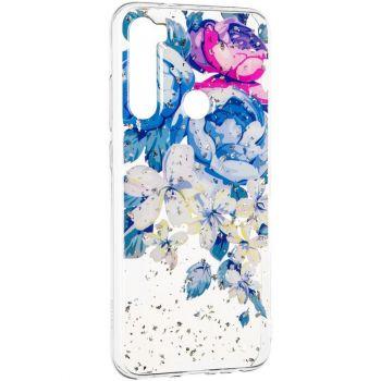 Чехол принт Пионы из серии Flowers от Floveme для Xiaomi Redmi Note 8
