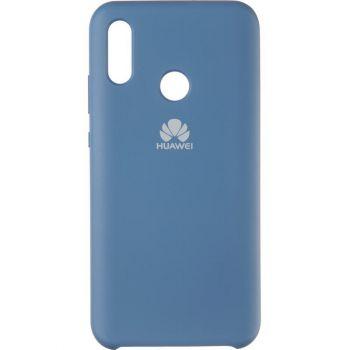 Оригинальный синий чехол Soft Case для Huawei P Smart (2019)