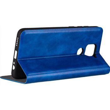 Кожаная книжка Cover Leather от Gelius для Xiaomi Mi 10 Ultra синий