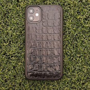 Чехол накладка из крокодильей кожи от Jitnik для Samsung A715 (A71)