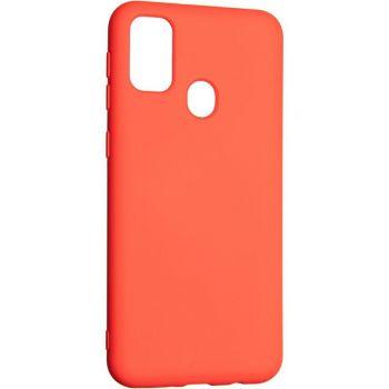 Оригинальный чехол полного обхвата Full Soft для Samsung M215 (M21) Red
