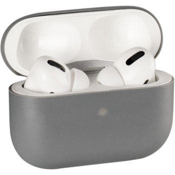 Серый силиконовый чехол от Floveme для AirPods Pro