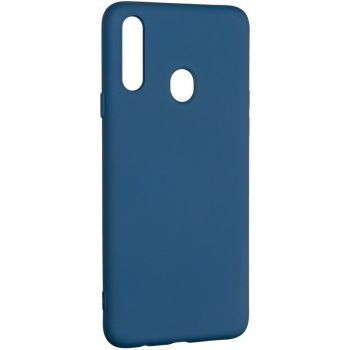 Оригинальный чехол полного обхвата Full Soft для Xiaomi Redmi Note 9s Blue