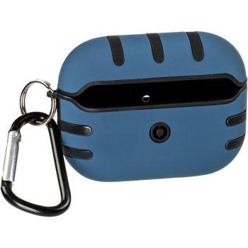 Темно-синий силиконовый чехол KeepHone от Floveme для AirPods Pro