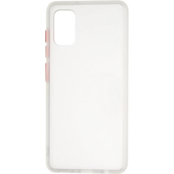 Защитный матовый чехол Yoho для Samsung A415 (A41) белый