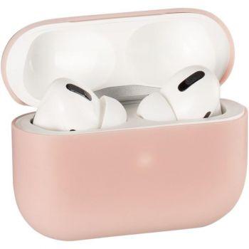 Розовый силиконовый чехол от Floveme для AirPods Pro