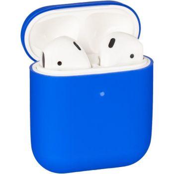 Синий силиконовый чехол от Floveme для AirPods