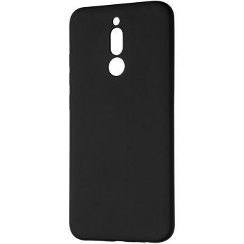 Оригинальный чехол полного обхвата Full Soft для Xiaomi Redmi 8 Black