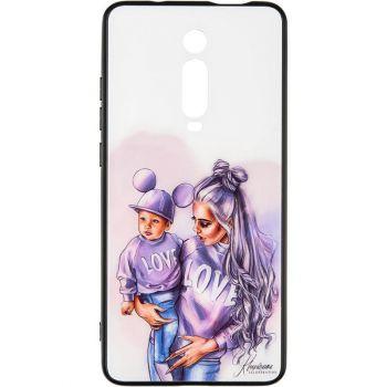Накладка с девушкой (принт №1) от Floveme для Samsung A015 (A01)