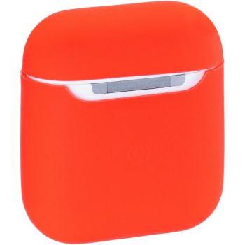 Cиликоновый красный защитный чехол для AirPods от Aspor