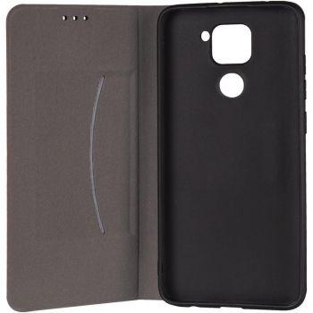 Кожаная книжка Cover Leather от Gelius для Huawei P Smart (2021) красный