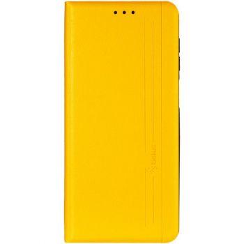 Кожаная книжка Cover Leather от Gelius для Xiaomi Redmi 9c желтый