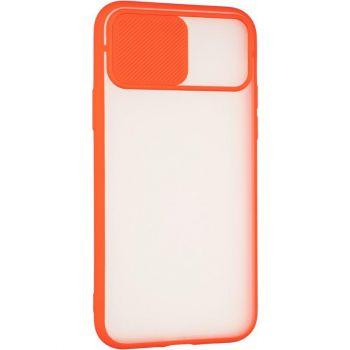 Защитная накладка с закрытой камерой для iPhone 12 Pro красный