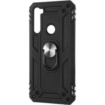 Противоударный черный чехол Defence с кольцом от Honor для Xiaomi Redmi Note 8t