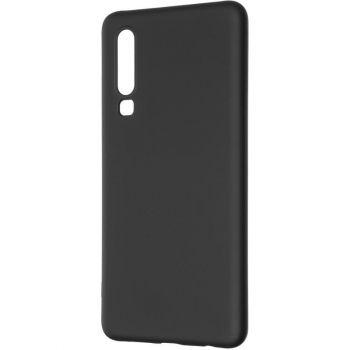 Оригинальный чехол полного обхвата Full Soft для Huawei P30 Black