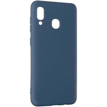 Оригинальный чехол полного обхвата Full Soft для Xiaomi Redmi Note 8t Blue