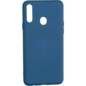 Оригинальный чехол полного обхвата Full Soft для Samsung A115 (A11) Blue