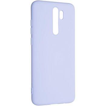Оригинальный чехол полного обхвата Full Soft для Xiaomi Redmi Note 8 Pro Violet