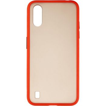Защитный матовый чехол Yoho для Samsung A015 (A01) красный