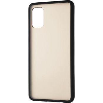 Защитный матовый чехол Yoho для Samsung A415 (A41) черный