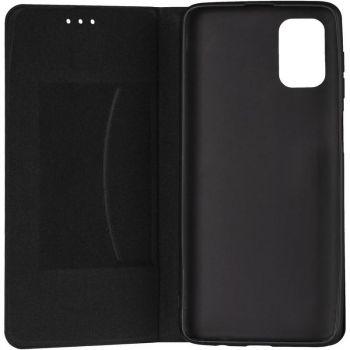 Кожаная книжка Cover Leather от Gelius для Huawei P Smart (2021) черный